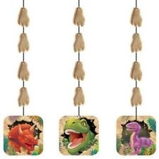 Dino Blast Hanging Cutouts 3 Pack Dinosaur Birthday Party Favors Decoration