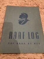 RAAF Log The RAAF At War Vintage Book History