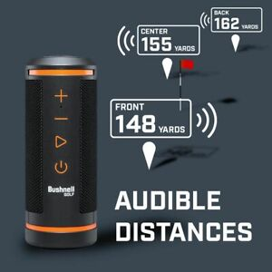 NEW 2020  BUSHNELL BLUETOOTH WINGMAN GOLF AUDIBLE GPS SPEAKER