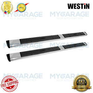 Westin For 04-15 Silverado 1500 Premier Oval Tube Polished Stainless 22-6040
