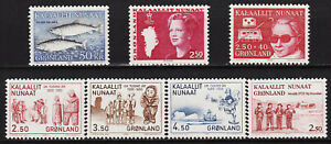 GREENLAND - COMPLETE YEAR 1983 - 128 to 134 - MNH -