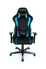 DXRacer Gaming Stuhl, F-Serie, Formula, Kunstleder, schwarz-blau
