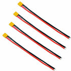 40Pcs Male Female T Plug Connectors Deans Style with Heat Shrink For RC LiPo NEW