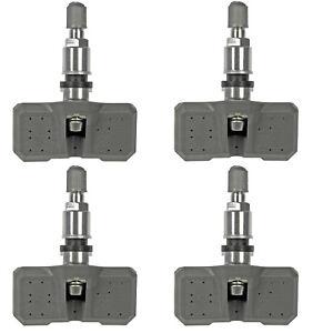 Four Tire Pressure Monitoring System (TPMS) Sensors Dorman 974-043