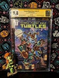 CGC 9.8 Teenage Mutant Ninja Turtles #1 (TMNT, IDW) ONLY 2 IN THE WORLD!
