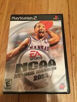 EA SPORTS NCAA MARCH MADNESS 2003 - PS2 - COMPLETE W/MANUAL - FREE S/H (C)
