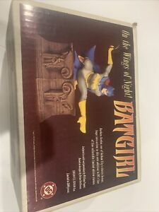 Rare Batgirl on The Wings of Night Sculpture Statue 1997 DC Limited # 3593/3600