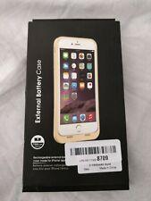 External Battery Case C-7000mAh Gold iphone 7/8 New in open box