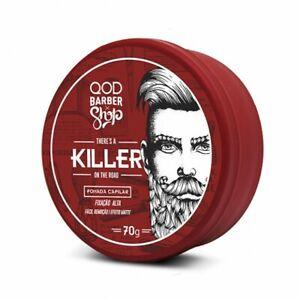 QOD BARBER SHOP KILLER HAIR POMADE(HAARPOMADE) 70G