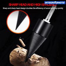 Hexagon handle Drill Chop Wood Split Tool Firewood Machine Drill Bit Tools