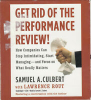 Get Rid of Performance Review Rout Culbert 6CD Audio Book Business Management