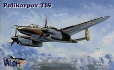 Valom 1/72 Model Kit 72003 Polikarpov TIS