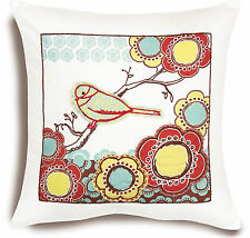 Handmade Embroidery Kit ~ Dimensions Bird On Branch Pillow Cover #72-73570 SALE!