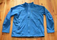 PATAGONIA Mens BLUE FULL ZIP SOFTSHELL JACKET VGC Size XL