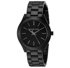Michael Kors Slim Runway MK3587 Mini Black Dial Women's 33mm Wrist Watch