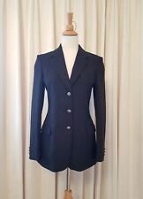 VERSACE JEANS COUTURE Women's Black Blazer Size IT 40 / AU 8, GUC