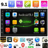 "2Din 7"" Android 9.1 Quad Core Car Stereo MP5 Player GPS Nav WiFi FM Radio+Camera"