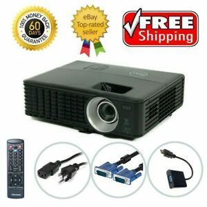 Dell 1420X DLP Projector 2700 ANSI HD 1080i 3D HDMI-adapter w/Accessories bundle
