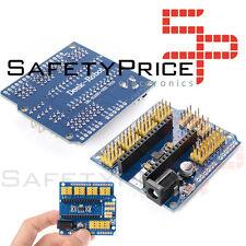 NANO V3.0 ATmega328P I/Ou EXTENSION BOARD SHIELD Compatible Arduino SP00