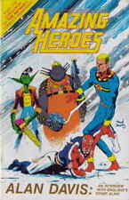 Amazing Heroes #85 VF; Fantagraphics   save on shipping - details inside