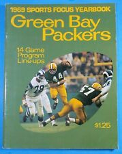 Original 1969 GREEN BAY PACKERS Football Sports Focus Magazine Yearbook