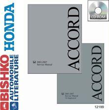 2003-2007 Honda Accord Shop Service Repair Manual CD w/ V6 Supplement