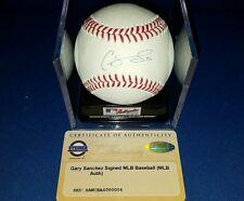 Gary Sanchez Yankees Autographed signed #24 OML Baseball Rookie Steiner COA