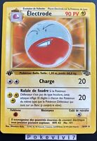 Carte Pokemon ELECTRODE 18/64 RARE Jungle Wizards Edition 1 FR Proche NEUF