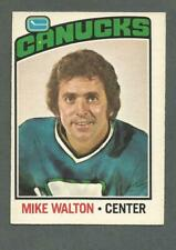 1976-77 OPC O-Pee-Chee Hockey Mike Walton #23 Vancouver Canucks NMT+ *1
