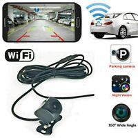 Wifi Car Rear View Reversing HD Back Up Parking Monitor Camera Kit Night Vision
