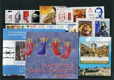 Vatican-vintage complete 2015 - 29 VALUES + 2 NOTES NEW INTACT + BOOKLET