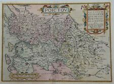 Original Map of French Region - PICTOU by Ortelius in 1584