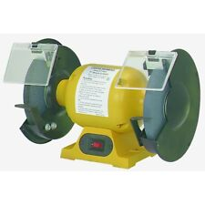 8 in. 3/4 HP 3450 RPM Bench Grinder To Get Big Buffing & Grinding Jobs Done!