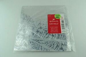 Vtg Wrapping Paper Gift Wrap OOP Christmas Happy Birthday Sealed Snow Branches