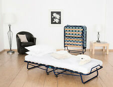 Vico Blue Frame Folding Bed - Single Size, Guest Bed, New
