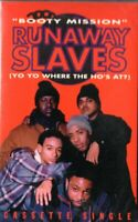 Runaway Slaves Booty Mission  Rap Hiphop Cassette Tape Single New Sealed
