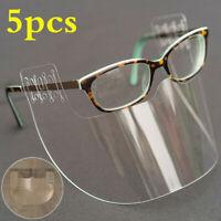 5PCS Face Shield Clip auf Brille Abdeckung Gesichtsmaske Sicherheits Visier