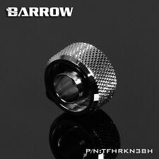 "Barrow G1/4"" 'Choice' 3/8 - 5/8 Flexible Tube Compression Fitting Silver - 224"