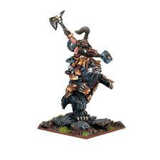 Dwarf Berserker Lord on Brock -- Kings of War - Mantic Games