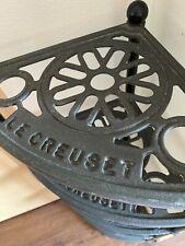 Rare HTF Le Creuset Enamel Cast Iron 5 Tier Pot Stand