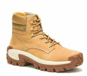 CATERPILLAR INVADER HI -STEEL TOE WORK WITHOUT LIMITS -LEATHER BOOT- MEN'S -NEW!