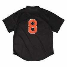 3439fd0711e 1997 Baltimore Orioles Cal Ripken Jr Sz 44 Black Mitchell   Ness BP Jersey