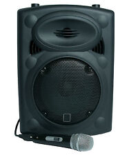 Bingo and Raffle Caller Portable PA Speaker System Inc Microphone & Line In