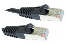 Snagless CAT 5e CABLE RESEAU ETHERNET DROIT RJ45 BLIND�‰ FTP 50cm 1m 2m 3m 5m 10m