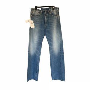 Levis Vintage Mens 1955 501xx Selvedge Jean Size 34x34