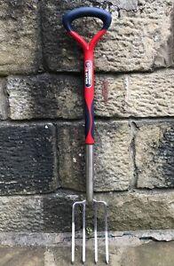 Spear & Jackson Select Stainless Steel Border Fork - Polypropylene Handle