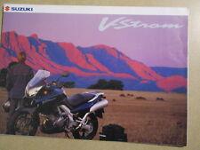 CATALOGUE MOTO : SUZUKI : V-STROM  09/2001 + TARIFS
