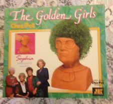 """""""The Golden Girls"""" Chia Pet """"Sophia"""" by """"Joseph Enterprises"""" For Indoor Gardens"""
