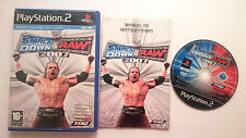SMACKDOWN VS RAW 2007 WWF SMACK DOWN PLAYSTATION 2 PS2 PS1 PS2 PAL SPAIN