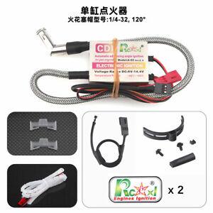 Rcexl Automatic Single Ignition CDI for NGK ME8 1/4-32 120°  with Hall Sensor